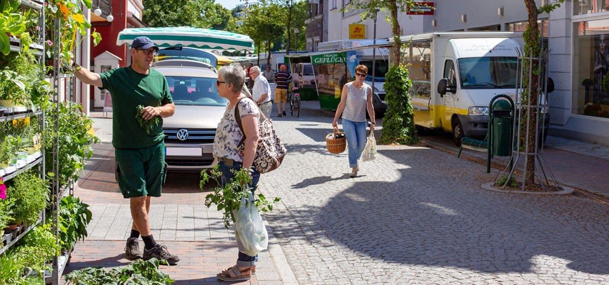 Wochenmarkt Hoya